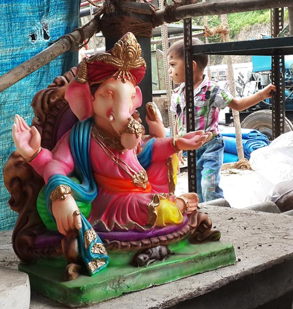 Bappa will be back in another 365 days, na?' - Rediff com