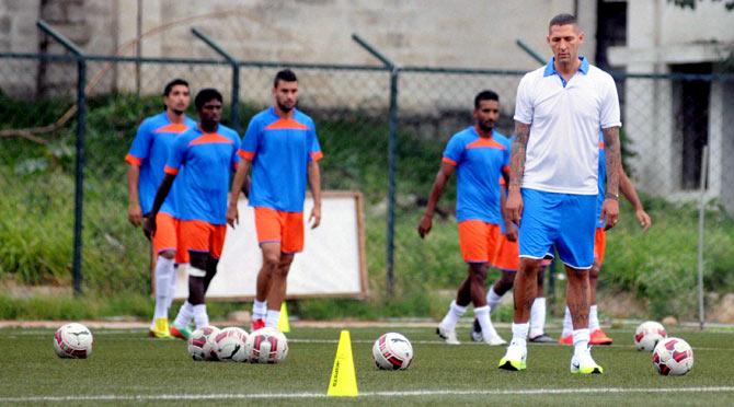Rediff Sports - Cricket, Indian hockey, Tennis, Football, Chess, Golf - ISL club Chennaiyin FC and coach Materazzi part ways