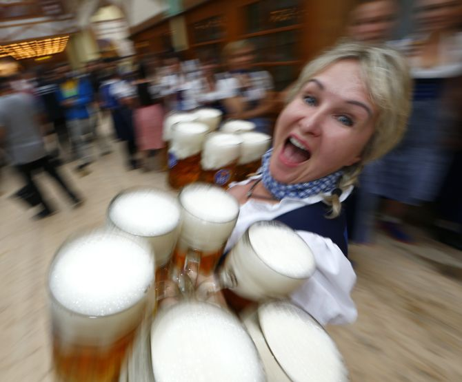 India News - Latest World & Political News - Current News Headlines in India - Bottom's up! World's LARGEST beer festival is here