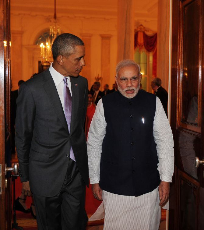 India News - Latest World & Political News - Current News Headlines in India - Chalein saath saath: Modi, Obama's op-ed