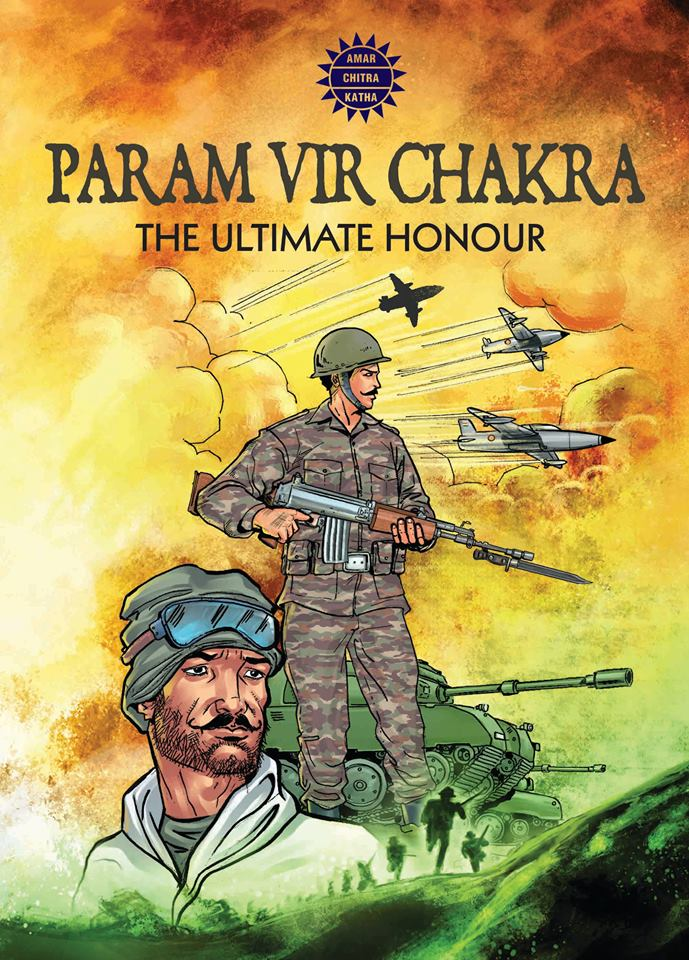 Comic book chronicling valour, sacrifice of army men released