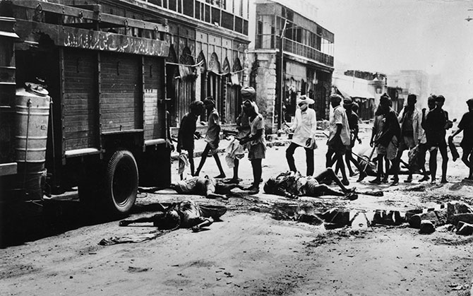 Victims of the riots in Delhi