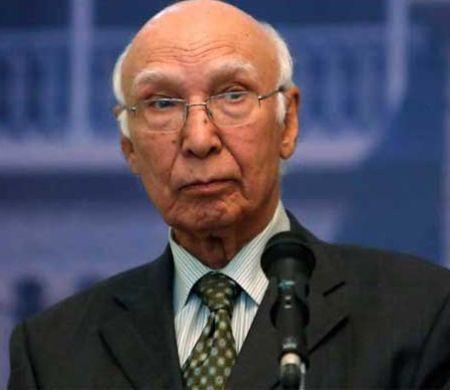 India News - Latest World & Political News - Current News Headlines in India - Only Kashmiris can decide their future: Sartaj Aziz