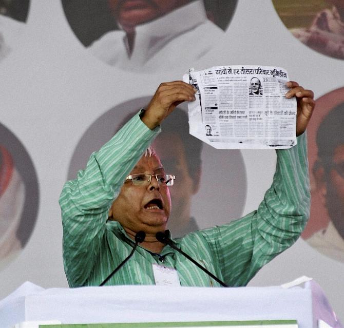 India News - Latest World & Political News - Current News Headlines in India - Swabhiman trio run down Modi for mocking Bihar