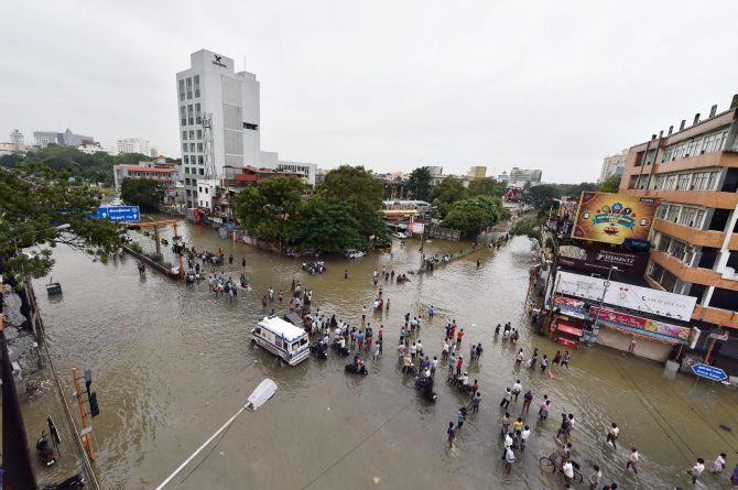 Flooding in Chennai