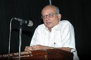 Hindu consolidation won't work in Kerala :   B R P Bhaskar, 83, is one of the most respected journalists in Kerala