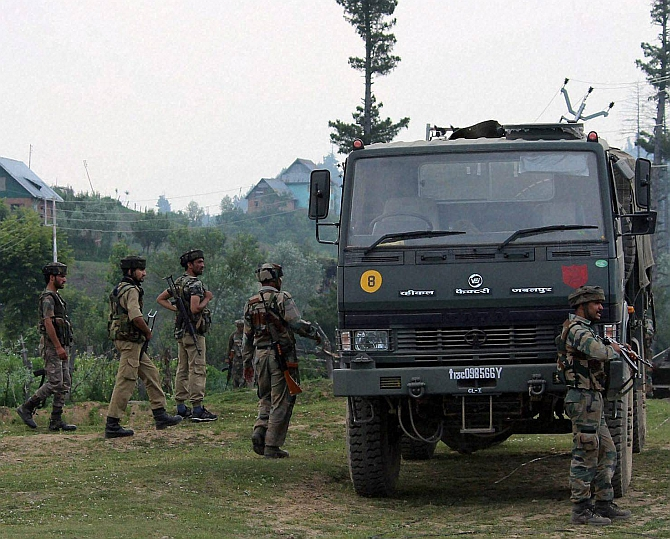 Havaldar killed in JeM attack on CRPF camp in Pulwama