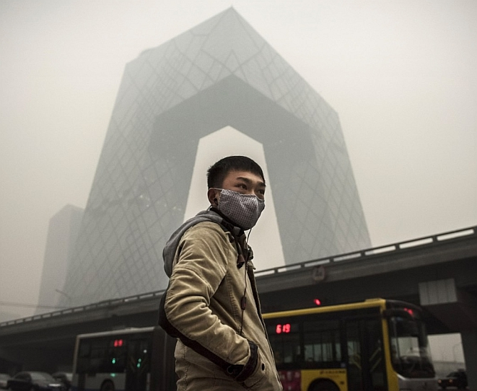 Chronic pollution in Beijing caused China to relook its growth story, says Ramesh