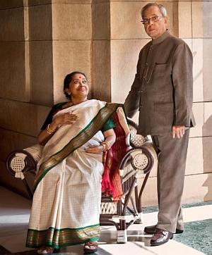 Inside President Pranab S Home Rediff Com India News