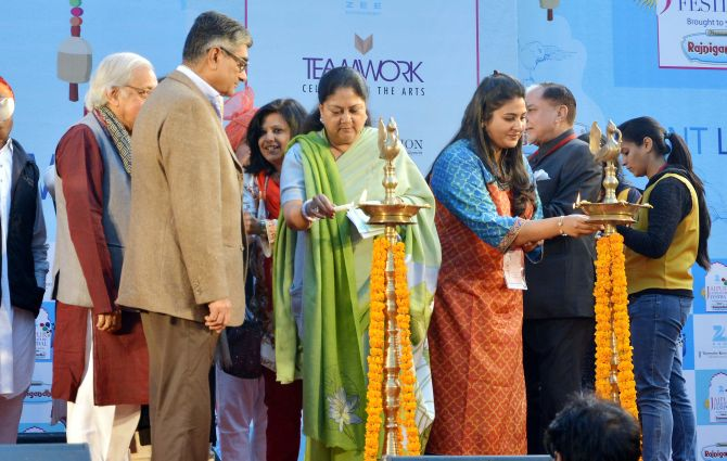 The Jaipur Literary Festival 2015