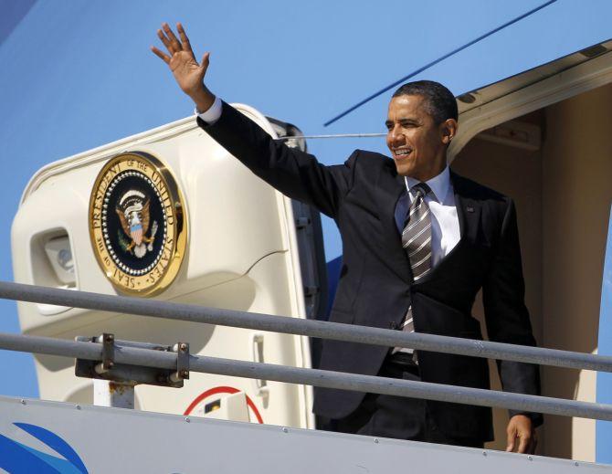 Inside look: Obama's White House in the sky - Rediff.com ...
