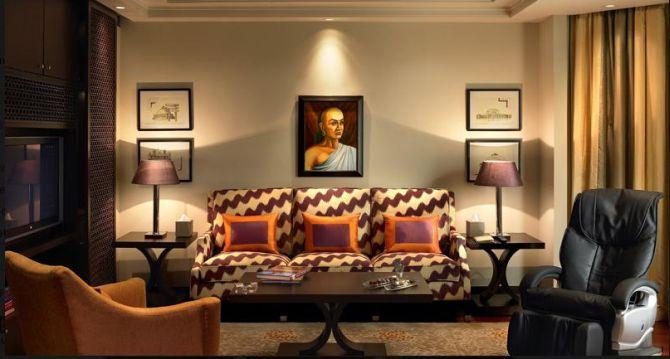 Photos Sneak Peek Into Obama S Grand Suite In Delhi