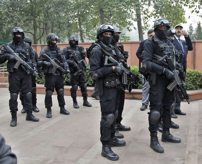 Indian army images - The stylish NSG commando