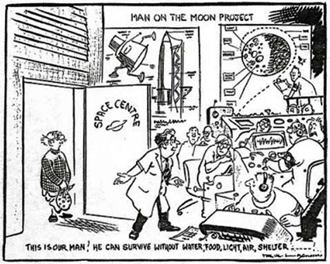 The genius of R K Laxman