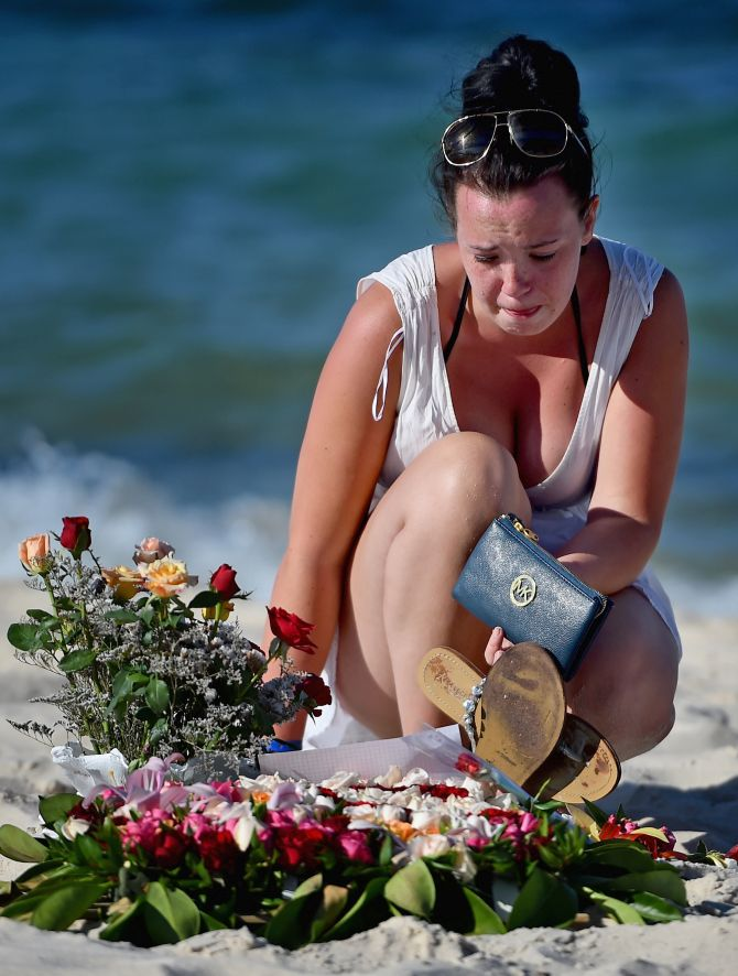 All Our Friends Are Dead Today Indian Origin Recounts Tunisia Horror Rediff India News