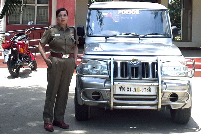 Ruveda Salam, IPS officer