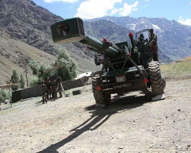 Kargil India  city pictures gallery : How artillery helped India win the Kargil war Rediff.com India News