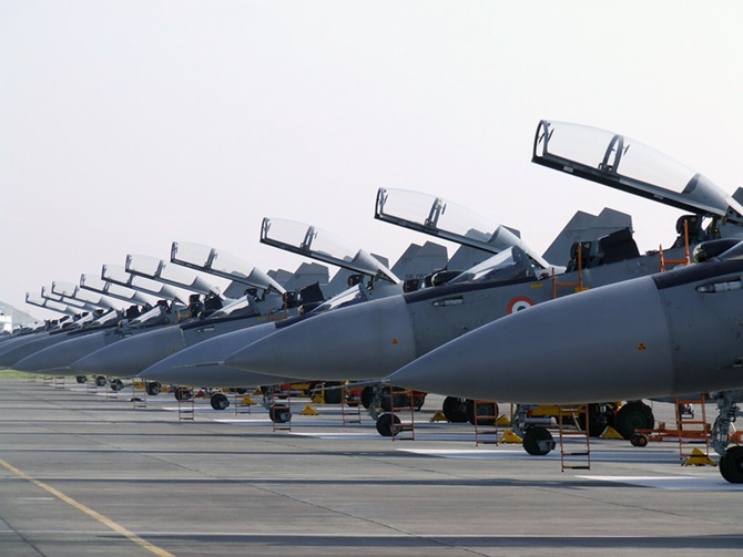 IMAGE Sukhoi 30 MKI Fighter Planes Lined Up At The Lohegaon Air Force Base Photograph T S Ashok Rashtrapati Bhavan