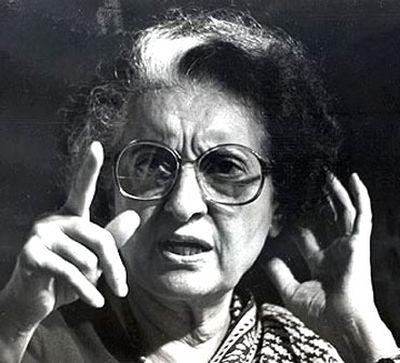 Indira Gandhi Goddess And Her Terror Turn Rediff Com