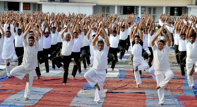 India News - Latest World & Political News - Current News Headlines in India - Yoga enters UNESCO's list of intangible cultural heritage of humanity