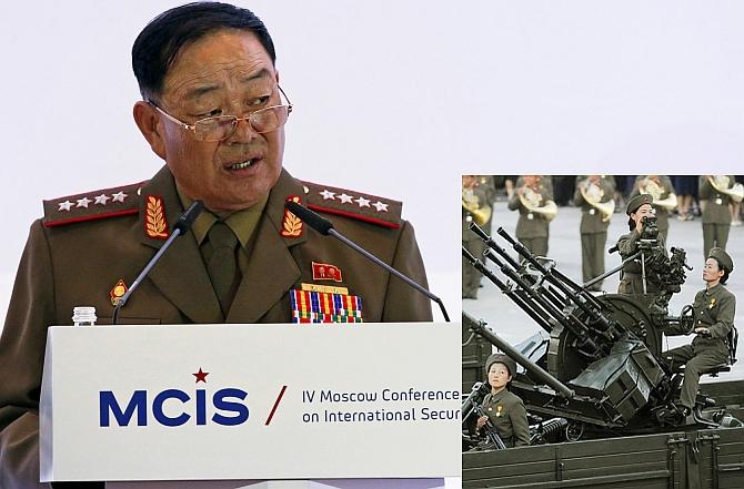 Anti-aircraft Gun to Kill Jang Execution by Anti-aircraft Gun