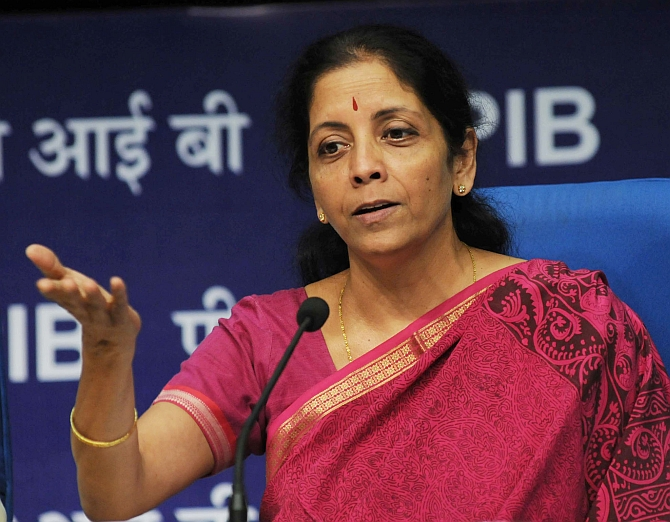 Disappointed, not discouraged by India's low rank: Sitharaman