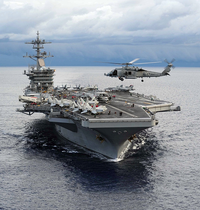 Largest Warship Nimits Cl