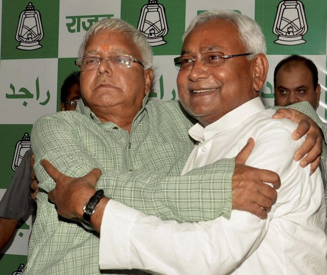 Lalu Yadav and Nitish Kumar