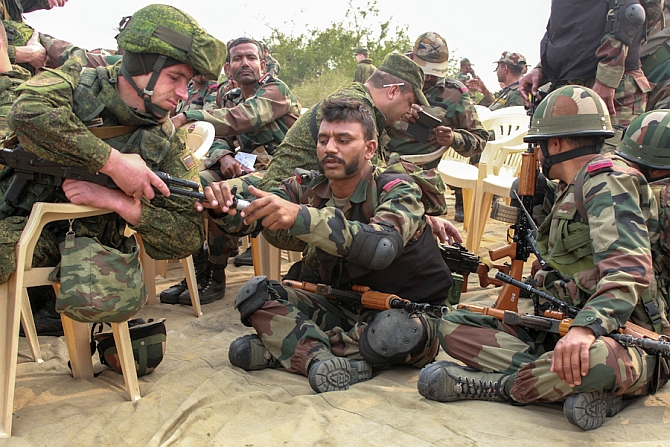When India and Russia took down terrorists in Rajasthan ...