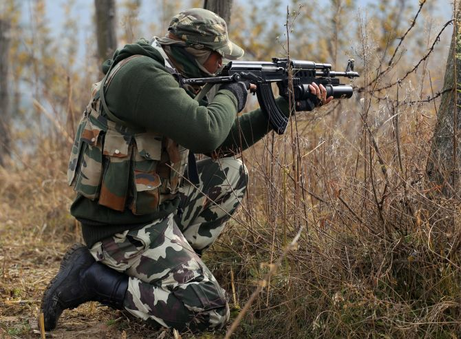 India News - Latest World & Political News - Current News Headlines in India - 3 militants, 1 civilian killed in J-K gun battle