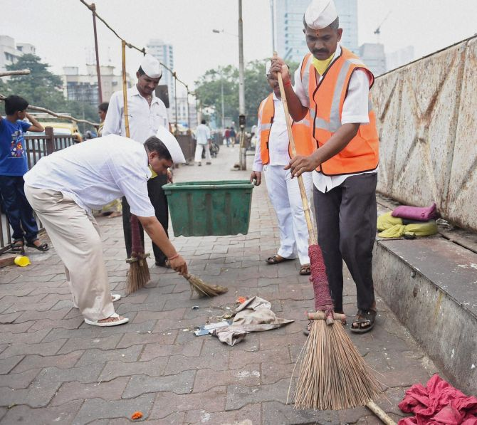 India News - Latest World & Political News - Current News Headlines in India - IN PHOTOS: One year of the Swachh Bharat Mission