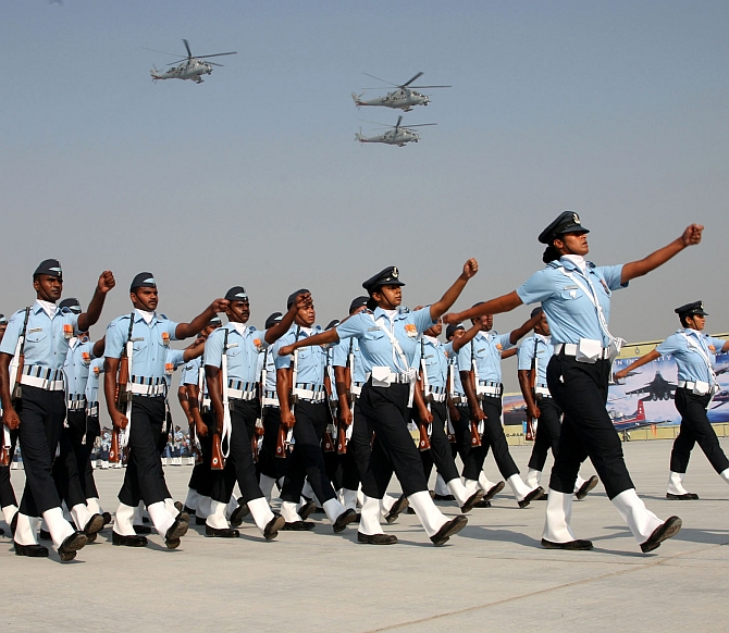 The Indian Air Force