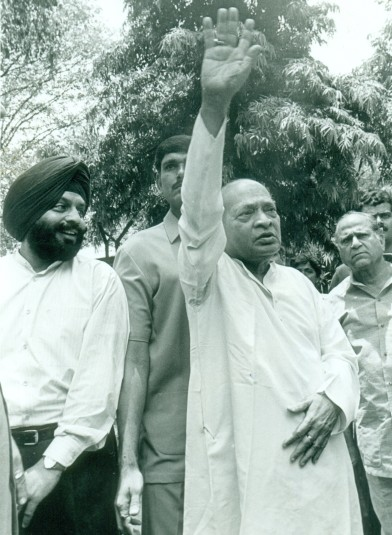P V Narasimha Rao, then the prime minister of India. Photograph: India Abroad Archives