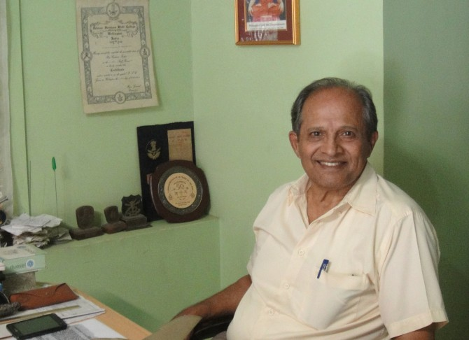 Group Captain D K Parulkar fought in the '65 and '71 Wars