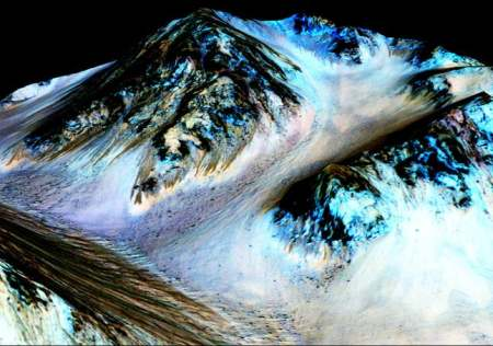 India News - Latest World & Political News - Current News Headlines in India - Stunning PHOTOS: There's flowing water on Mars