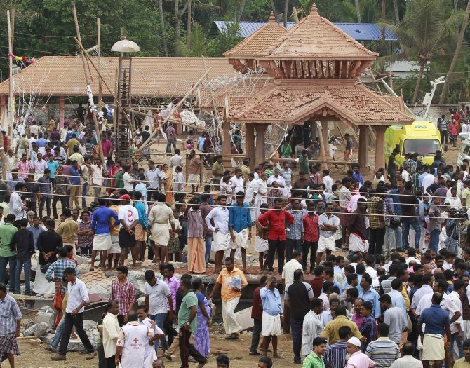 India News - Latest World & Political News - Current News Headlines in India - 'Sight of dead bodies is haunting me', says eyewitness at temple site