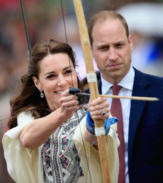 India News - Latest World & Political News - Current News Headlines in India - PHOTOS: Kate, Prince William hit the mark during Bhutan visit