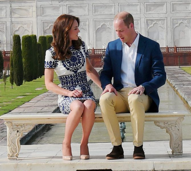 India News - Latest World & Political News - Current News Headlines in India - PHOTOS: William and Kate keep their date with the Taj Mahal