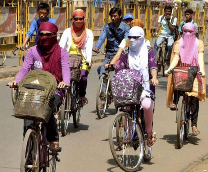 Telangana under scorching sun rays for three more days