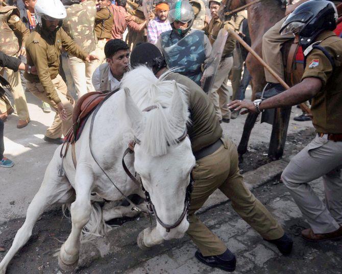 Shaktiman's death, a political conspiracy :    Bharatiya Janata Party MLA, Ganesh Joshi