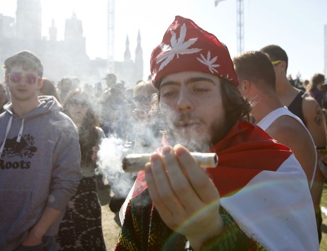 India News - Latest World & Political News - Current News Headlines in India - A 'high' holiday: Stoners celebrate National Weed Day