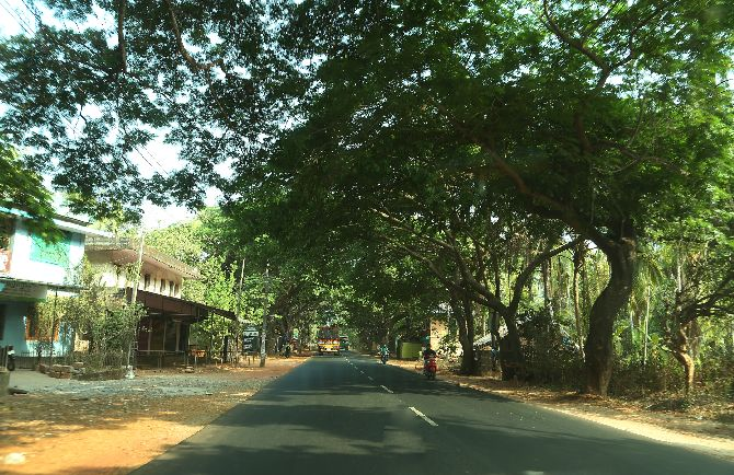Panoor village, where most political murders take place in Kerala
