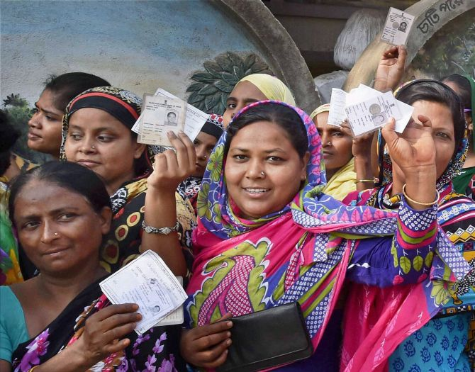 India News - Latest World & Political News - Current News Headlines in India - Phase 4 of West Bengal polls records 78.05 per cent votes