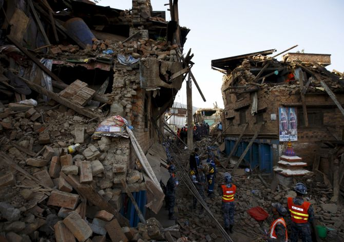 India News - Latest World & Political News - Current News Headlines in India - PHOTOS: Nepal still in rubble a year after devastating quake