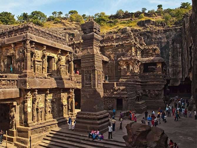 Kailash Temple in Ellora