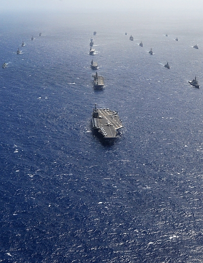 India News - Latest World & Political News - Current News Headlines in India - PIX: World navies unite @ Rim of the Pacific