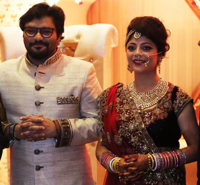 India News - Latest World & Political News - Current News Headlines in India - PHOTOS: Union minister Babul Supriyo gets hitched