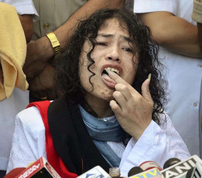 India News - Latest World & Political News - Current News Headlines in India - Anger in Manipur over Irom Sharmila's decision