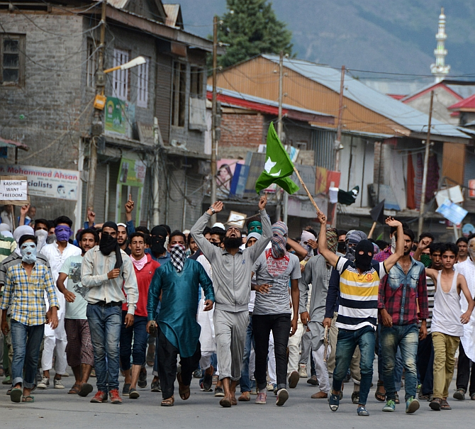 Kashmir protests
