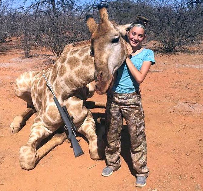 India News - Latest World & Political News - Current News Headlines in India - 'Hoped she's killed': US girl faces backlash over hunting photos
